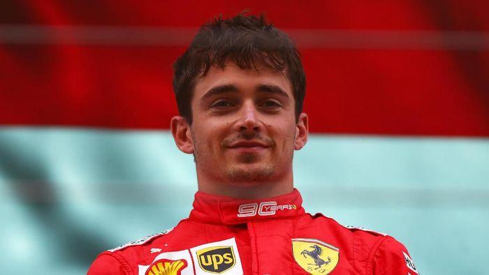 Charles Leclerc juara F1 GP Belgia. (Foto: Dan Istitene/Getty Images)