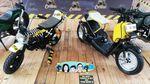 Motor Modifikasi Keluarga Jokowi Dalam Satu Atap