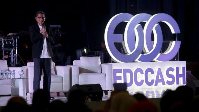 EDC Blockchain with EDCCASH merupakan aplikasi aset digital untuk memperoleh kesuksesan dan kebebasan finansial tanpa batas.