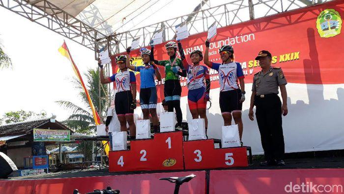 Atlet Jawa Timur kuasai CCI Series XXIX. (Foto: Pradito Rida Pertana/detikSport)
