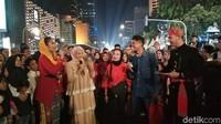 Semakin malam acara semakin meriah dipandu Abang dan None Jakarta (Elmy Tasya Khairally/detikcom)