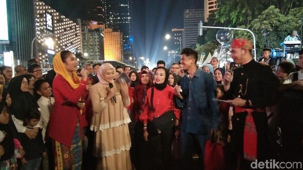 Foto Seru Wisatawan Nikmati Jakarta Muharram Festival