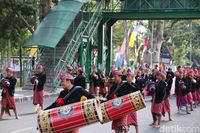 Meriahnya Karnaval Heritage Lombok-Sumbawa di APGN 2019