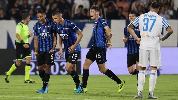 Atalanta untuk kali pertama tampil di Liga Champions musim ini.