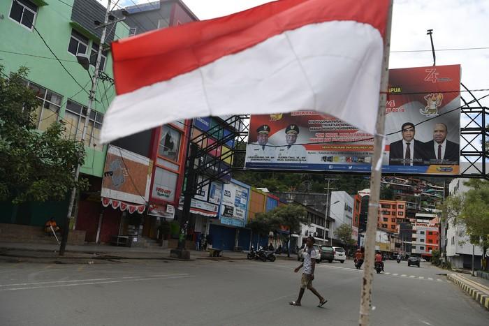 Pengamanan di Jayapura, Papua. Foto: Antara Foto