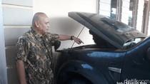 Mobil Ibrahim di Pekanbaru Dibakar Saat Parkir di Rumahnya