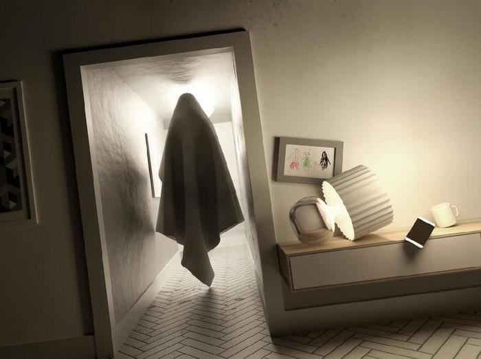 Kuyang Penampakannya Bikin geger, Ini Fakta dan Doanya/Foto: Ilustrasi hantu (iStock)