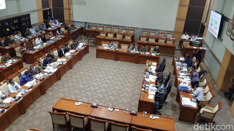 KPK hingga LPSK Rapat di DPR Bahas Anggaran Tahun 2020