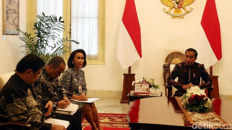 Pansel Serahkan 10 Nama Capim KPK ke Jokowi
