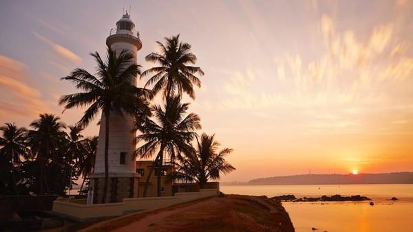 Terletak di pantai barat daya Sri Lanka, Kota Galle yang bersejarah telah selama berabad-abad jadi pelabuhan perdagangan yang penting (CNN)