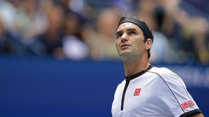 Roger Federer penasaran dengan medali emas di nomor tunggal putra olimpiade. (Steven Ryan/Getty Images)