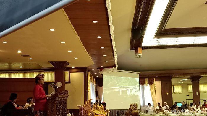 Gubernur Bali Wayan Koster/Foto: Aditya Mardiastuti/detikcom