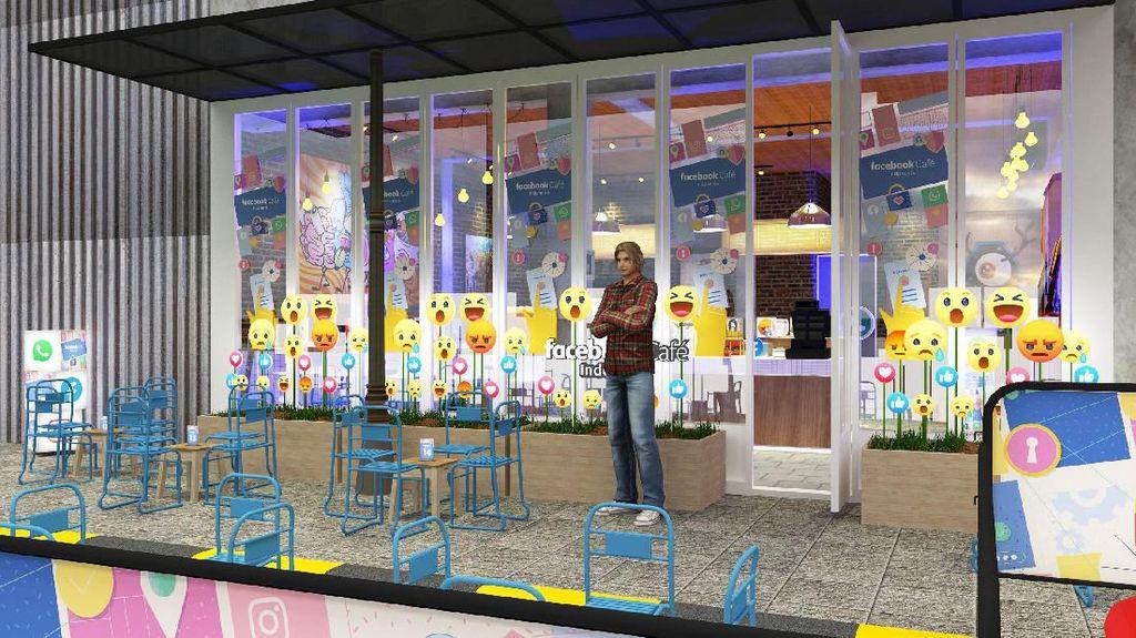 Facebook Cafe Bakal Hadir di Melawai, Seperti Apa?