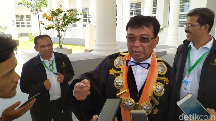 Rektor Unsyiah Prof Samsul Rizal