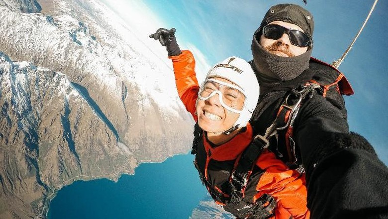 skydiving di queenstown