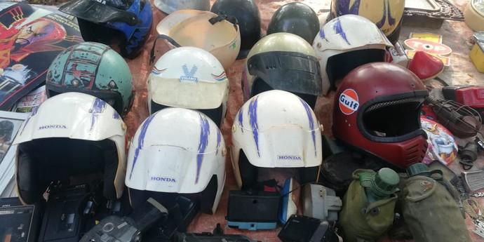 Helm Jadul Hadiah Beli Motor Jadi Buruan