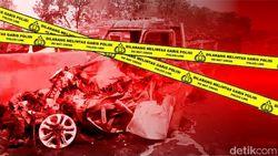 Kecelakaan MPV Diduga Ditabrak Truk Kapten Oleng di Riau, 2 Orang Luka