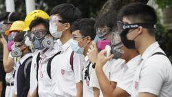 Ratusan Mahasiswa dan Pelajar di Hong Kong Bolos Demi Ikut Aksi Demo
