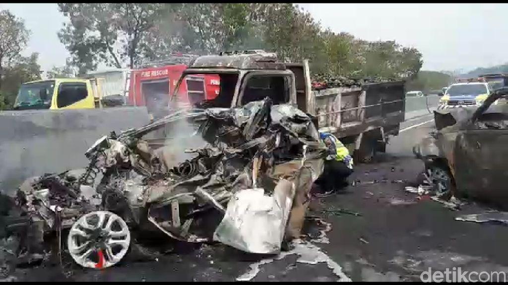 Penyebab Rem Truk Blong di Tol Cipularang, Tak Pakai Engine Brake