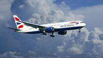 Dikejar Badai, Pesawat British Airways Cetak Rekor Kecepatan