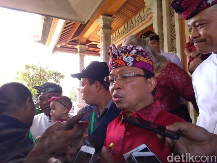 Gubernur Bali Wayan Koster (Aditya Mardiastuti/detikcom)