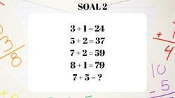 Soal matematika ini sekilas mungkin tampak rumit. Namun kalau kamu bisa menebak triknya harusnya bisa dengan mudah dijawab. Yuk coba uji kecerdasan kamu.