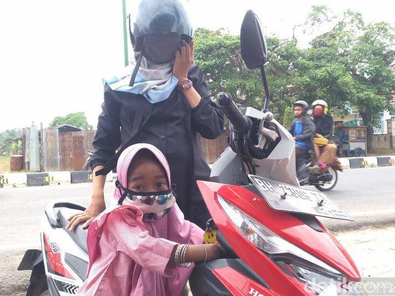 Kabut Asap Kepung Jambi, Warga Khawatir Anaknya Sakit