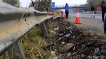 Suasana Terkini Tol Cipularang Usai Olah TKP Kecelakaan Maut