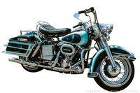 Harley-Davidson milik Elves Presley