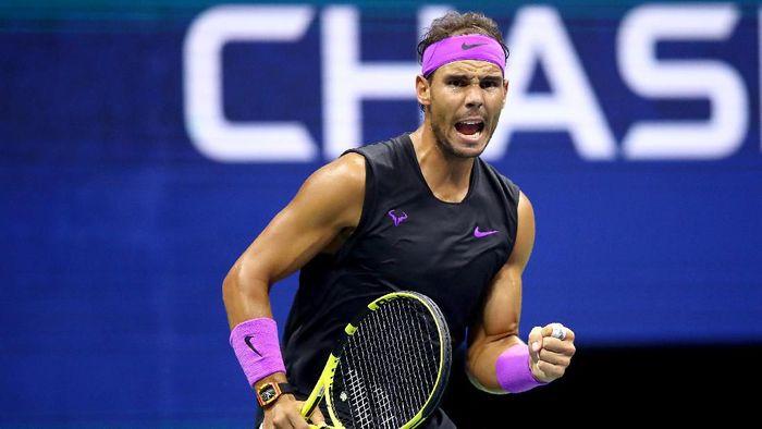 Rafael Nadal maju ke perempatfinal AS Terbuka. Foto: Clive Brunskill / Getty Images