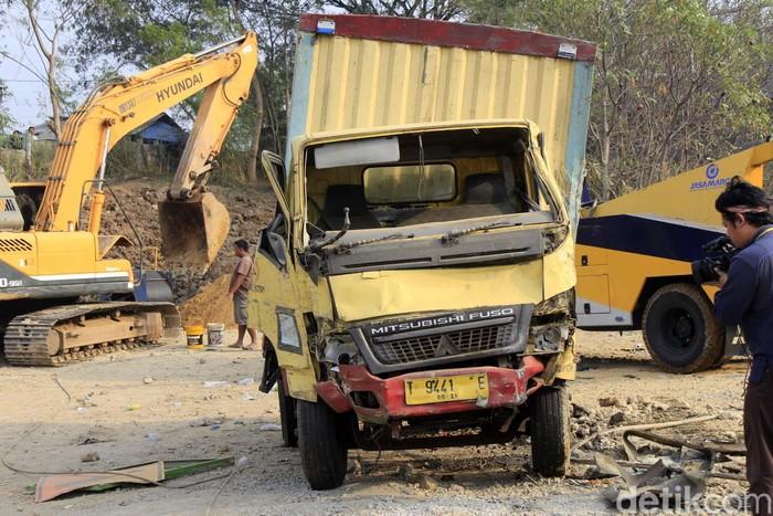 Ilustrasi kecelakaan di Tol Cipularang (Foto: Yudha Maulana)