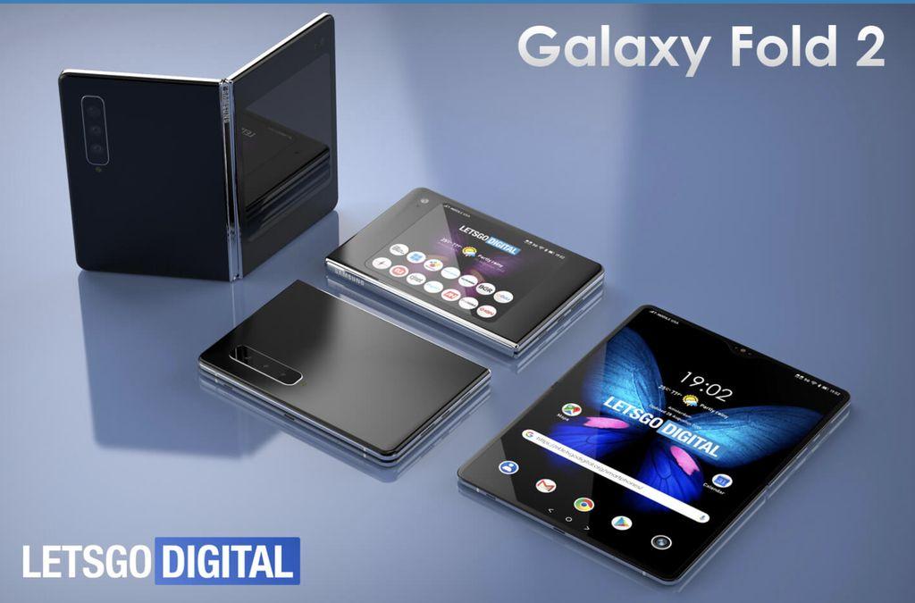 3D Samsung Galaxy Fold 2 (Foto: letsgodigital.org)