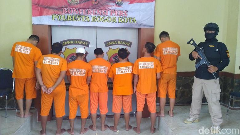 Polres Bogor Kota Tangkap 7 Pengedar Narkoba Sepanjang Agustus 2019
