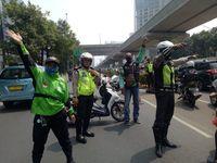 Gegara Bos Taksi Malaysia, Driver Ojol Demo Kedubes Malaysia