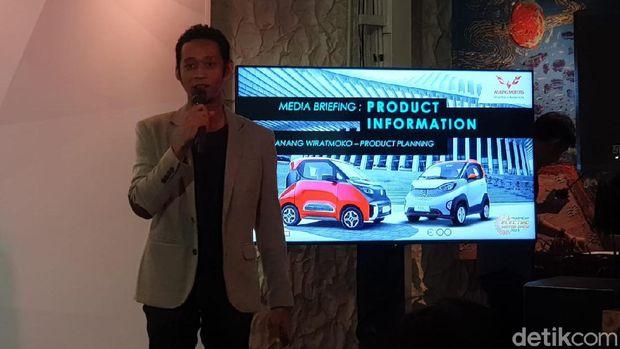 Wuling Bawa 2 Mobil Listrik ke Jakarta