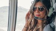 Kenalan dengan Pilot Helikopter Cantik, Luana Torres