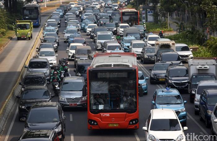 Ilustrasi macet di Jakarta (Foto: Agung Pambudhy-detikcom)