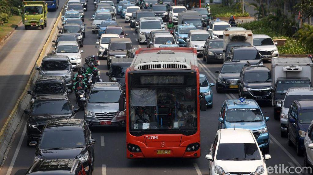 Jakarta Dinilai Bisa Keluar dari 10 Kota Termacet, Asalkan...