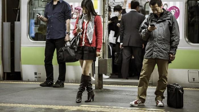 Ilustrasi Pelecehan Seksual di Jepang