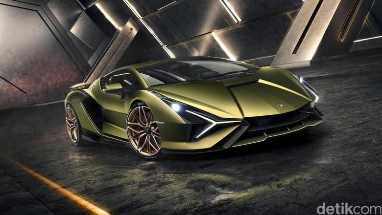 Lamborghini Sian. Foto: Lamborghini
