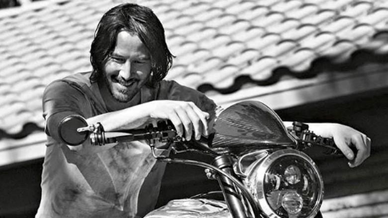 Keanu Reeves ulang tahun ke-55.