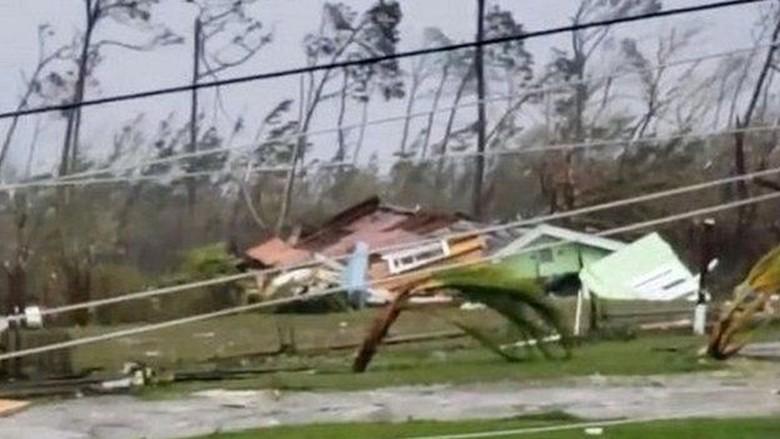 PM Bahama: Badai Monster Dorian Tak Pernah Kami Saksikan Sebelumnya