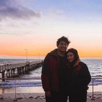 Perjuangan Aqil menempuh 14.447 km demi bertemu pacar ini viral