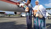 392 Jemaah Haji Kloter 1 Embarkasi Aceh Tiba di Tanah Air