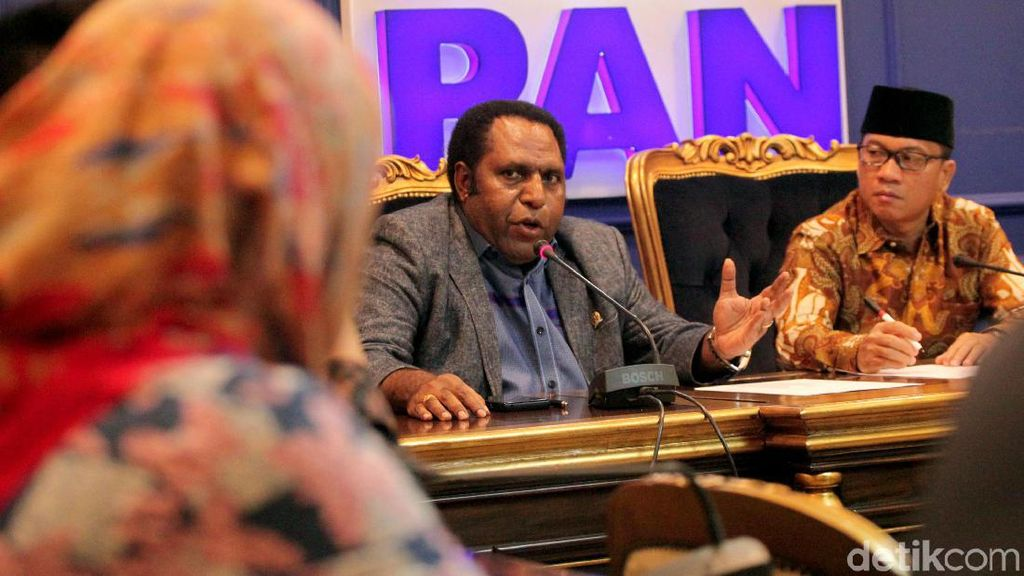 Anggota Dewan Fraksi PAN Buka Suara Terkait Polemik Papua