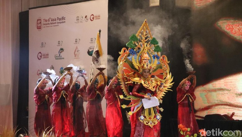 Drama Musikal Rinjani (Harianto Nukman/detikTravel)
