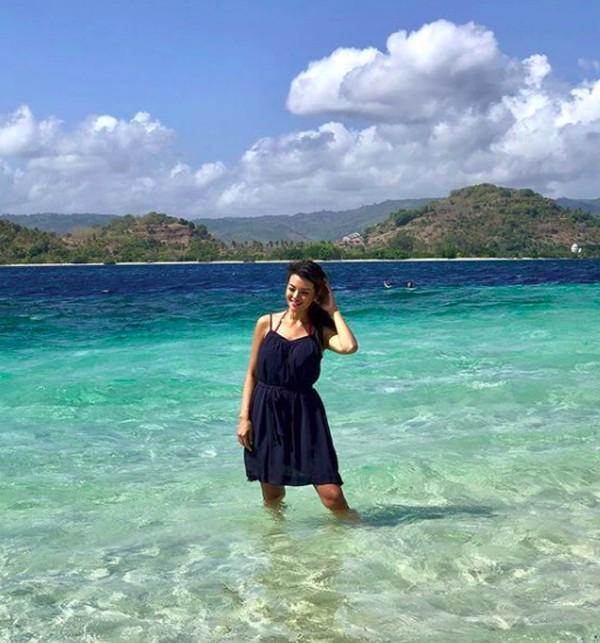 Di sela kesibukannya sebagai koki selebriti, Farah Quinn juga sering pergi jalan-jalan. (farahquinnofficial/Instagram)