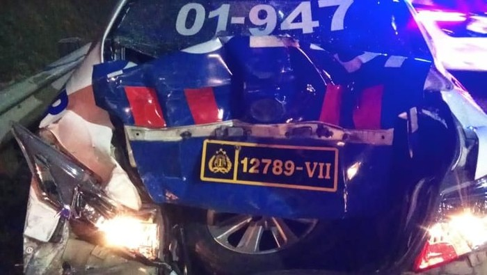 Kecelakaan di Tol Ciledug (Dok. Subdit Gakkum Polda Metro Jaya)
