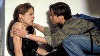 Linda tak menyangka di film Terminator 2 ia harus berolahraga dan membentuk tubuhnya hingga jadi berotot untuk memerankan tokoh Sarah.Dok. TriStar Pictures