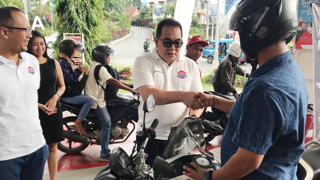 Cara Pertamina MOR VI Kalimantan Peringati Hari Pelanggan